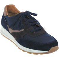 Chaussures Homme Baskets basses Mephisto Telvin Marine cuir