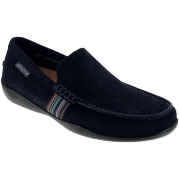 Chaussures Homme Mocassins Mephisto Idris Marine daim