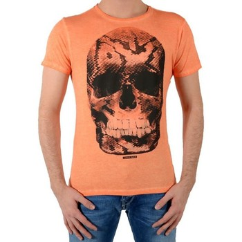 Vêtements Homme T-shirts manches courtes Japan Rags Tee Shirt Snake Orange