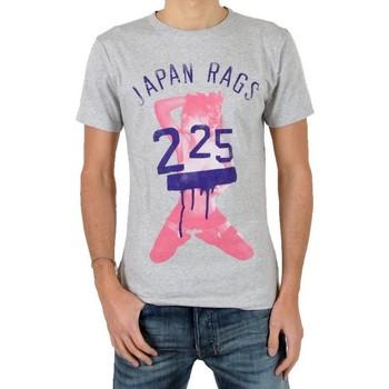Vêtements Homme T-shirts manches courtes Japan Rags T-Shirt Genou Gris