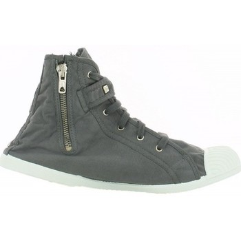 Chaussures Femme Baskets montantes Kiss And Walk Basket vegas Gris