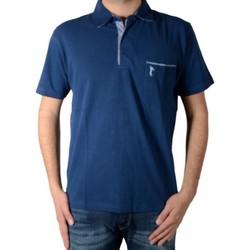 Vêtements Homme Polos manches courtes Marion Roth P2 Bleu
