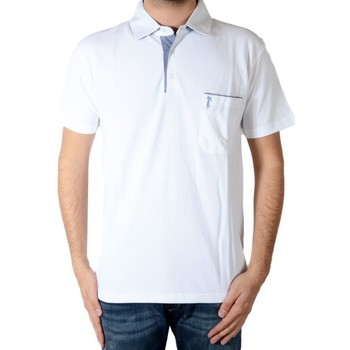 Vêtements Homme Polos manches courtes Marion Roth P2 Blanc