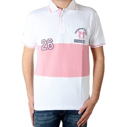 Vêtements Homme Polos manches courtes Marion Roth p5 Blanc