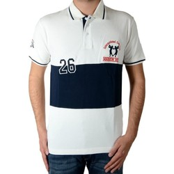 Vêtements Homme Polos manches courtes Marion Roth Polo p5 Beige