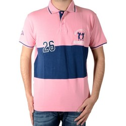 Vêtements Homme Polos manches courtes Marion Roth p5 Rose