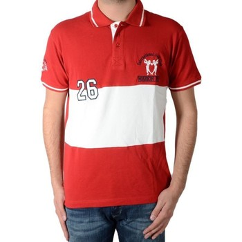 Vêtements Homme Polos manches courtes Marion Roth p5 Rouge