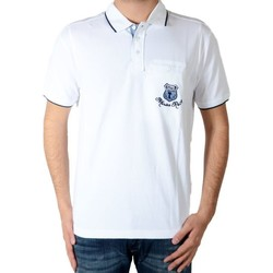 Vêtements Homme Polos manches courtes Marion Roth rib-2 Blanc