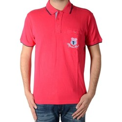 Vêtements Homme Polos manches courtes Marion Roth rib-2 Rose
