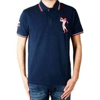 Vêtements Homme Polos manches courtes Marion Roth P8 Navy