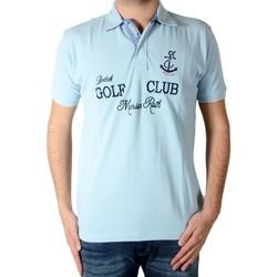 Vêtements Homme Polos manches courtes Marion Roth P40 Bleu