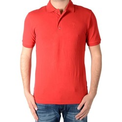 Vêtements Homme Polos manches courtes Marion Roth Polo uni Rouge