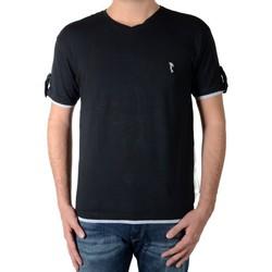 Vêtements Homme T-shirts manches courtes Marion Roth t32 Noir