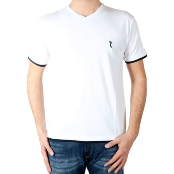 Vêtements Homme T-shirts manches courtes Marion Roth Tee Shirt t32 Blanc