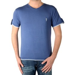 Vêtements Homme T-shirts manches courtes Marion Roth Tee Shirt t32 Indigo