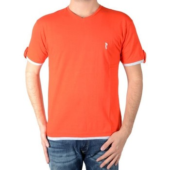 Vêtements Homme T-shirts manches courtes Marion Roth Tee Shirt t32 Rouge