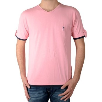 Vêtements Homme T-shirts manches courtes Marion Roth t32 Rose