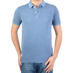 Vêtements Homme Polos manches courtes Mcgregor Polo  basic Bleu