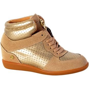 Chaussures Femme Baskets montantes Le Temps des Cerises Basket  Vic H17 Perf Marron