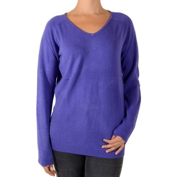 Vêtements Femme Pulls Pascal Morabito Pull Touché Cachemire 2 Violet