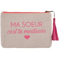 Sacs Femme Pochettes / Sacoches Primtex Pochette écriture rose fluo