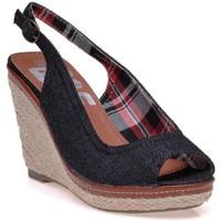 Chaussures Femme Espadrilles Refresh Sandales Noir