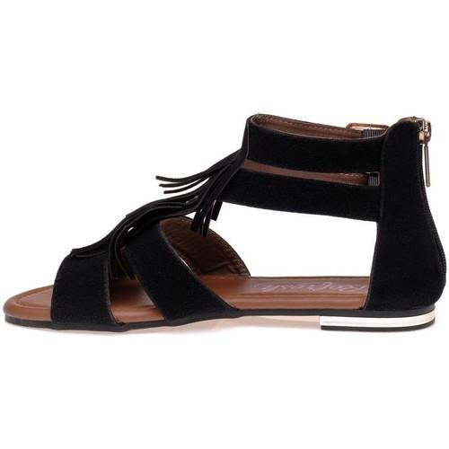 Sandales Refresh sandales et nu-pieds femme noir