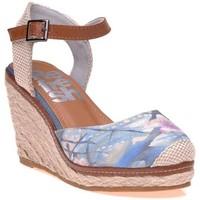 Chaussures Femme Espadrilles Refresh Sandales Gris