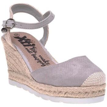 Chaussures Femme Espadrilles Xti Sandales Gris