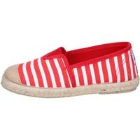 Chaussures Garçon Espadrilles Cienta espadrillas rouge textile blanc profumate BX287 rouge