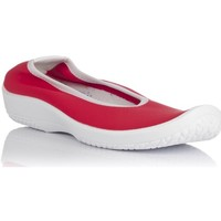 Chaussures Femme Tennis Arcopedico LOLITA PISO BLANCO-LICRA ROJA Bailarinas