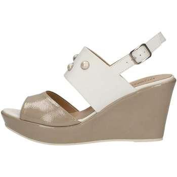 Chaussures Femme Sandales et Nu-pieds Donna Soft 7385 BLANC
