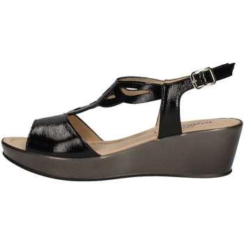 Chaussures Femme Sandales et Nu-pieds Donna Soft 7451 NOIR
