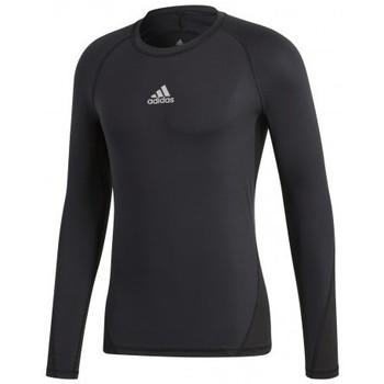 Vêtements Homme T-shirts manches courtes adidas Originals Alphaskin Sport LS Noir