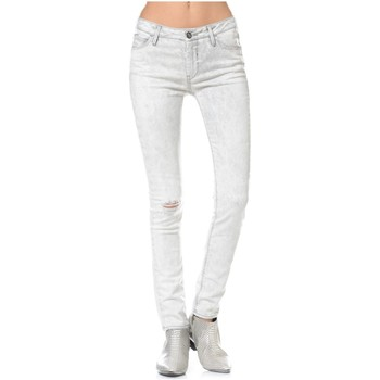 Vêtements Femme Jeans skinny Reiko LENNO Blanc