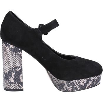 Chaussures Femme Escarpins Emanuélle Vee VEE escarpins noir daim BX384 noir