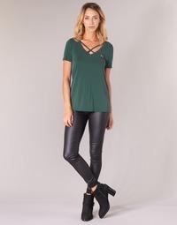 Vêtements Femme Pantalons 5 poches Only ONLROYAL Noir