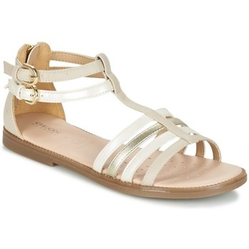 Chaussures Fille Sandales et Nu-pieds Geox Sandales J S. Karly G.D Beige Beige