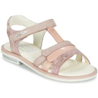 Chaussures Fille Sandales et Nu-pieds Geox Sandales J S. Giglio A Rose rose