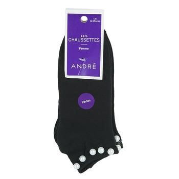 Accessoires Femme Chaussettes André PERLE NOIR