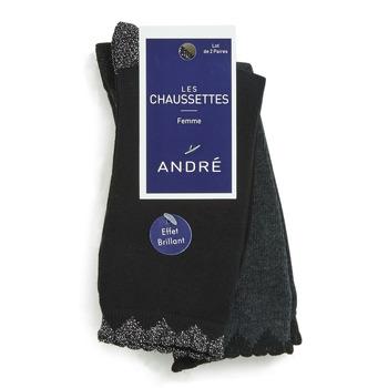 Accessoires Femme Chaussettes André COEUR MULTICOULEURS