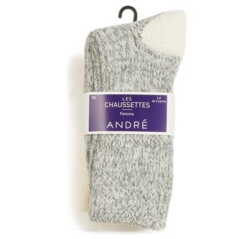 Accessoires Femme Chaussettes André SNOW MULTICOULEURS