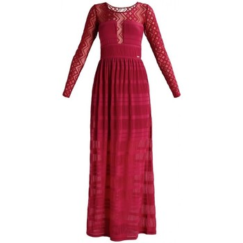 Vêtements Femme Robes longues Guess Robe Kyara Bet on Pink (sp) 13