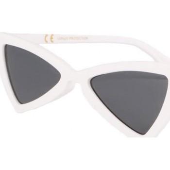 Montres & Bijoux Lunettes de soleil Eye Wear Lunettes de soleil triangulaires blanches Tryade Blanc