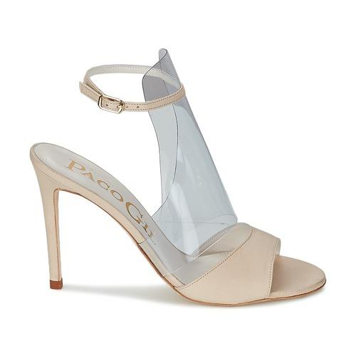 Femme Sandales Nu Paco Luise Chaussures Et Gil Ecru pieds Nv8wOym0n