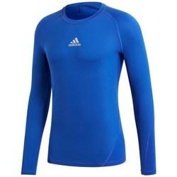 Vêtements Homme T-shirts manches longues adidas Originals Alphaskin LS bleu