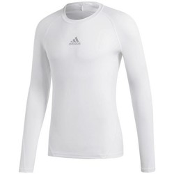 Vêtements Homme T-shirts manches longues adidas Originals Alphaskin Sport LS blanc