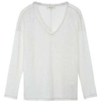 Vêtements Femme T-shirts manches longues Marie Sixtine ALOUA Vanille