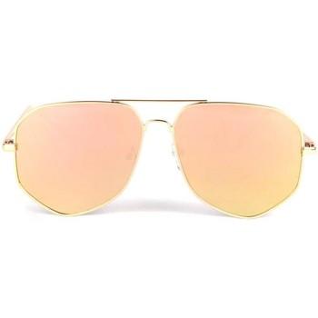 Montres & Bijoux Lunettes de soleil Eye Wear Lunettes de soleil aviateur miroir doré Loisy Jaune