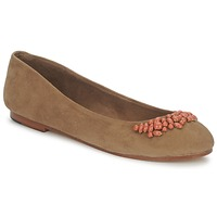 Chaussures Femme Ballerines / babies Ambre Babzoe DUFFY Camel